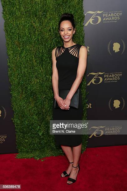 Journalist Caitlin Dickerson attends the 75th Annual Peabody Awards Ceremony held at Cipriani Wall Street on May 21 2016 in New York City