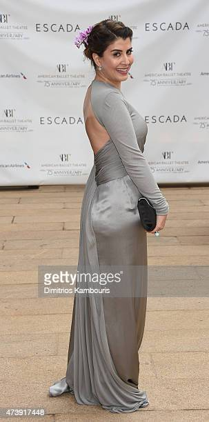 Journalist Camelia Entekhabifard attends the American Ballet Theatre's 75th Anniversary Diamond Jubilee Spring Gala at The Metropolitan Opera House...