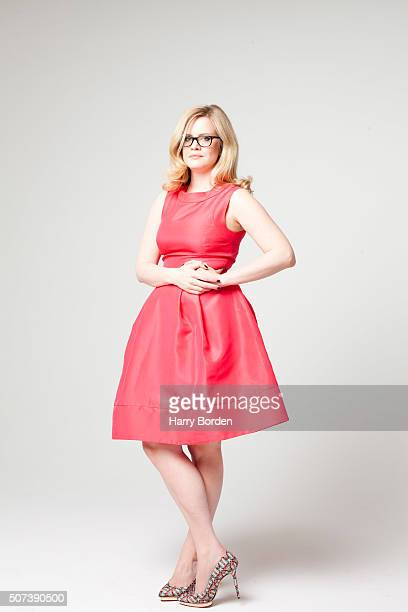 Journalist Camilla Long is photographed for the Sunday Times magazine on May 30 2013 in London England