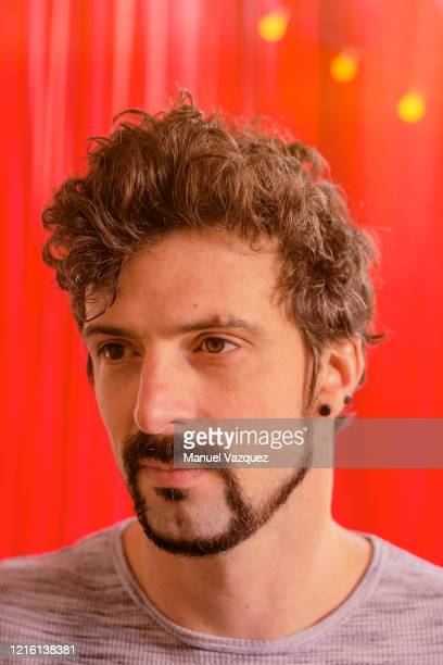 Journalist campaigner and the author Brett Scott is photographed on March 2 2020 in London England