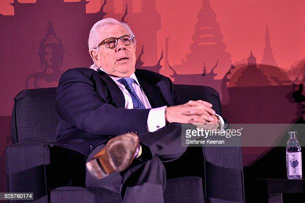 Journalist Carl Bernstein speaks onstage at the screening of 'All The President's Men' during the TCM Classic Film Festival 2016 Opening Night on...