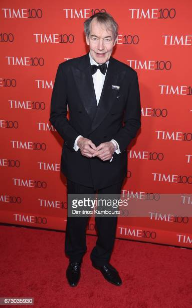 Journalist Charlie Rose attends the 2017 Time 100 Gala at Jazz at Lincoln Center on April 25 2017 in New York City