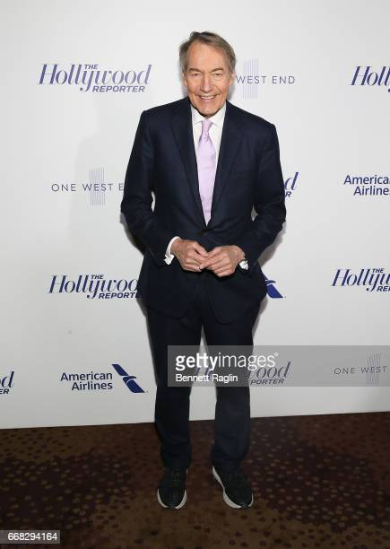 Journalist Charlie Rose attends The Hollywood Reporter's 35 Most Powerful People In Media 2017 at The Pool on April 13 2017 in New York City