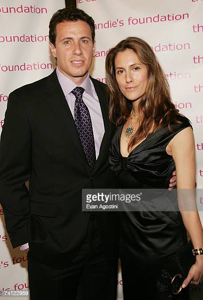 Journalist Chris Cuomo and wife Cristina attend the 4th Annual Event To Prevent' benefit dinner and auction at Cipriani's 42nd Street May 10 2007 in...