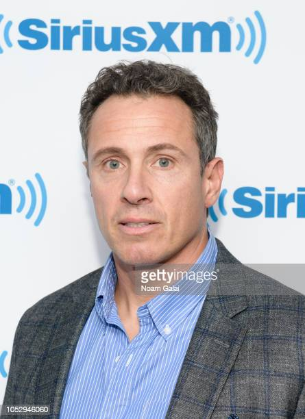 Journalist Chris Cuomo visits the SiriusXM Studios on October 24 2018 in New York City
