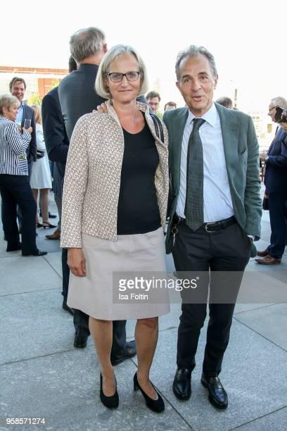 Journalist Christiane Hoffmann and former swiss ambassador Tim Guldimann during the 13th Long Night of the Sueddeutsche Zeitung at Open Air...