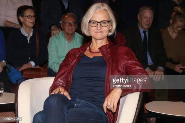 Journalist Christiane Hoffmann during the 'Markus Lanz' TV show on November 30 2018 in Hamburg Germany