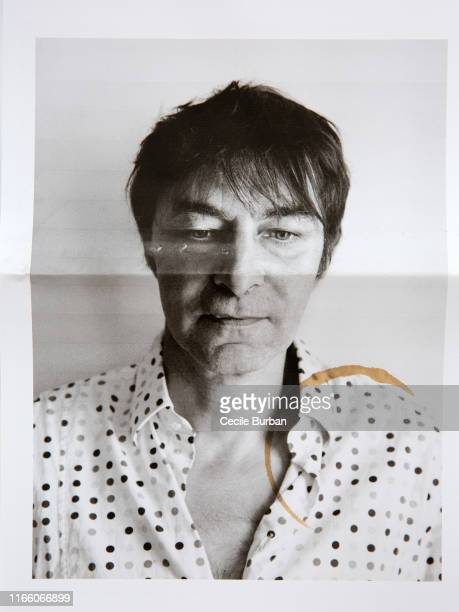 Journalist Christophe Tison poses for a portrait on July 8, 2019 in Paris, France.