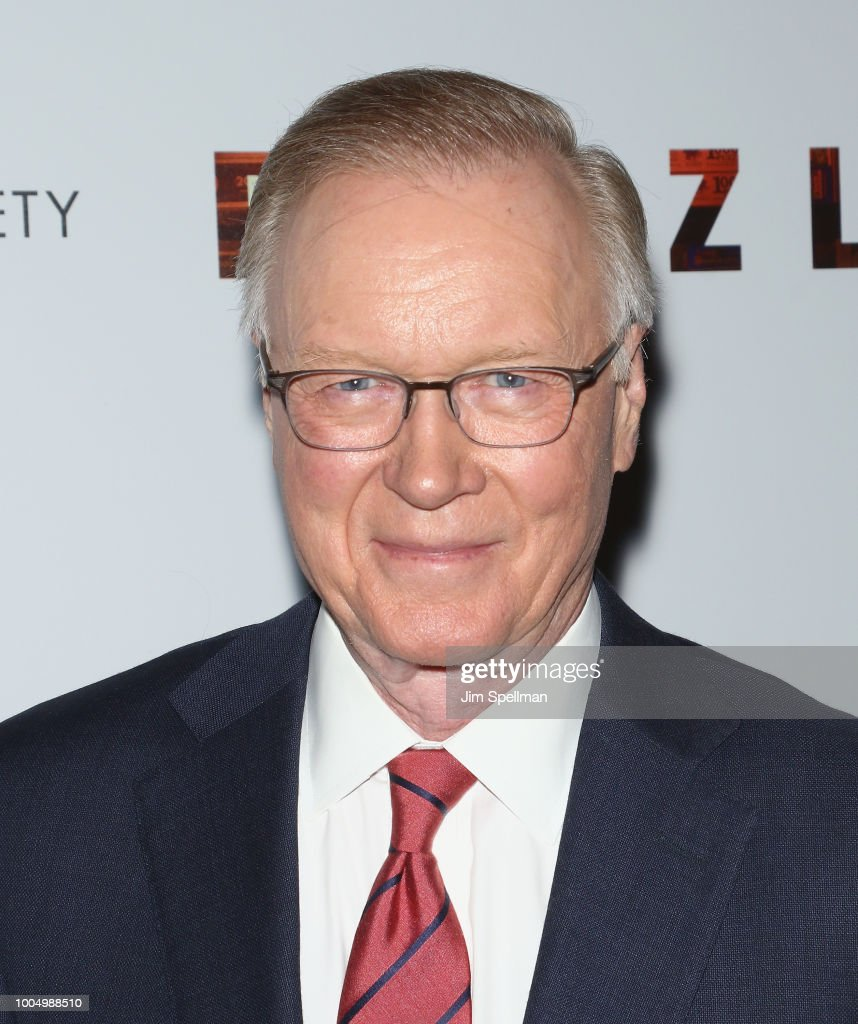 TV journalist Chuck Scarborough attends the screening of 'Puzzle' hosted by Sony Pictures Classics and The Cinema Society at The Roxy Cinema on July 24, 2018 in New York City.
