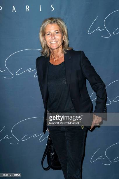 Journalist Claire Chazal attends La Scala reopens on September 11 2018 in Paris France