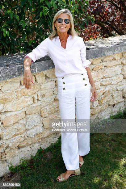 Journalist Claire Chazal attends the 10th Angouleme FrenchSpeaking Film Festival Day Six on August 27 2017 in Angouleme France