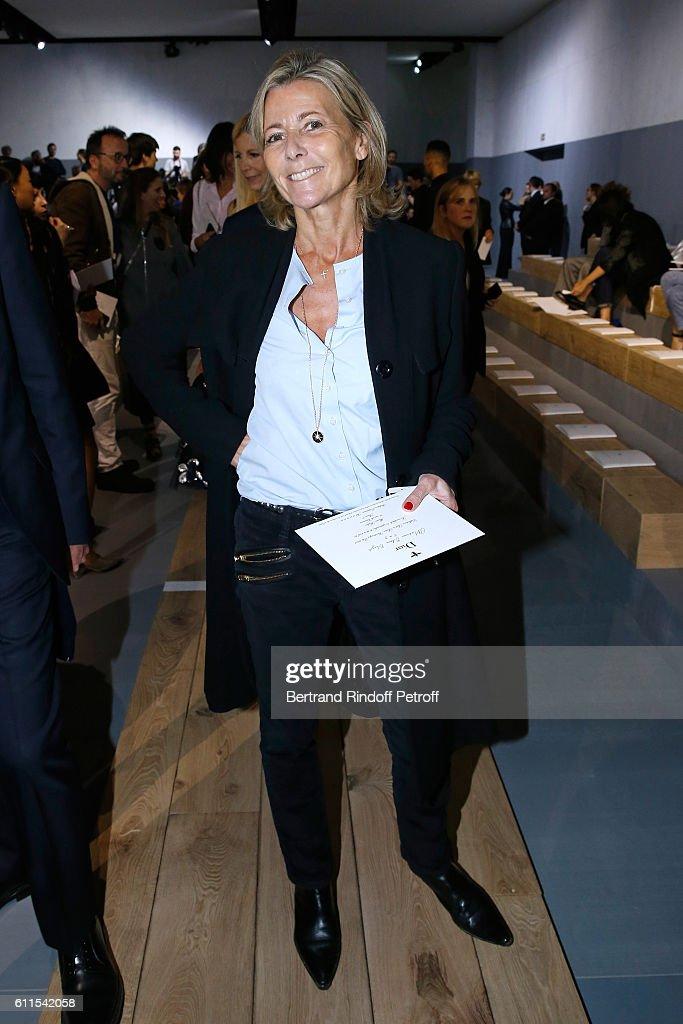 Christian Dior :  Front Row  - Paris Fashion Week Womenswear Spring/Summer 2017