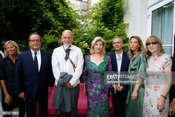 Journalist Claire Chazal Former French President Francois Hollande President of the Jury actor John Malkovich First lady of Cote d'Ivoire Dominique...