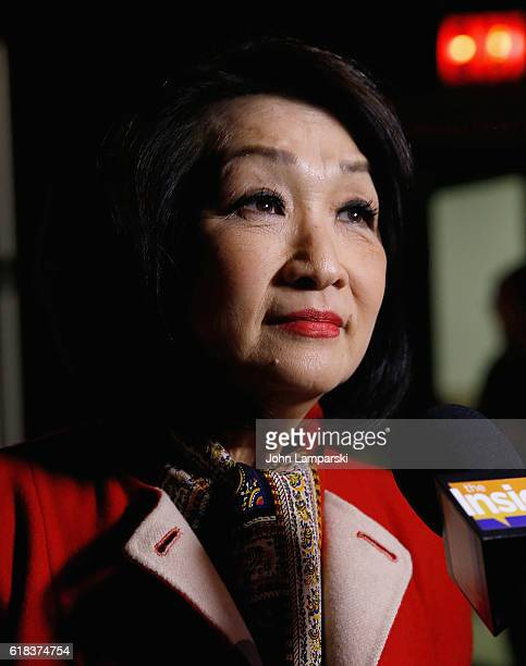 Journalist Connie Chung attends 27th Annual Courage in Journalism Awards Ceremony at Cipriani 42nd Street on October 26 2016 in New York City