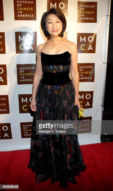 Journalist Connie Chung attends the Museum of Chinese in America 30th Anniversary Gala at Capitale on December 16 2009 in New York City