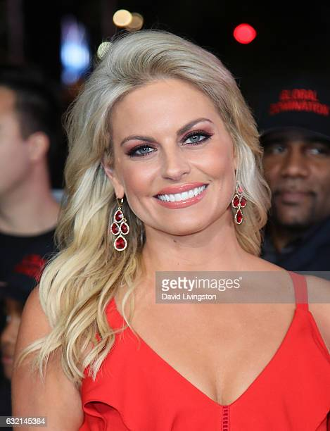 Journalist Courtney Friel attends the premiere of Paramount Pictures' 'xXx Return of Xander Cage' at TCL Chinese Theatre IMAX on January 19 2017 in...