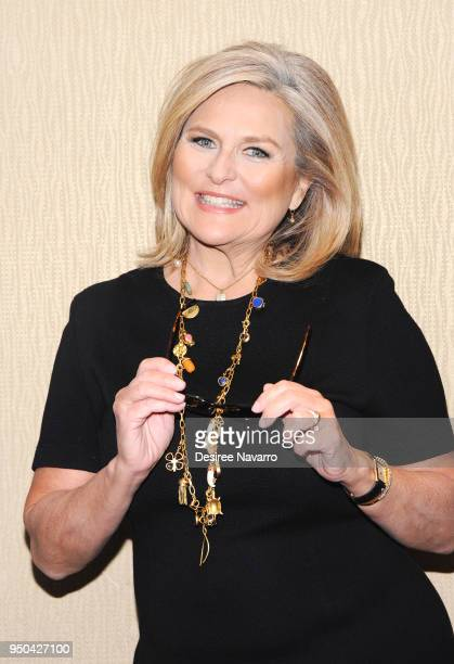 Journalist Cynthia McFadden attends 2018 Matrix Awards at Sheraton New York Times Square on April 23, 2018 in New York City.