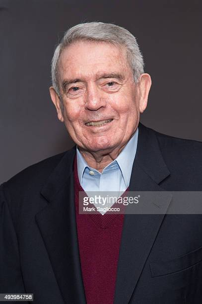 Journalist Dan Rather attends the 'Truth' New York special screening at the Lincoln Plaza Cinema on October 23 2015 in New York City