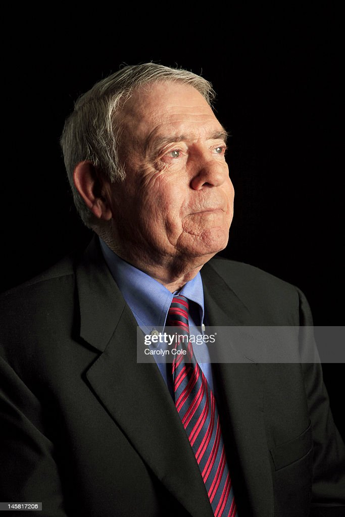Journalist Dan Rather is photographed for the Los Angeles Times on June 25, 2012 in New York City. PUBLISHED IMAGE.