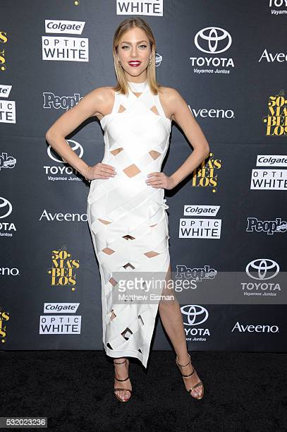 Journalist Daniela Di Giacomo attends People En Espanol's 50 Most Beautiful at Espace on May 17 2016 in New York City