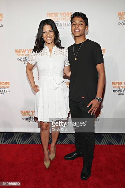 Journalist Darlene Rodriguez attends the 'New York Spectacular' Opening Night at Radio City Music Hall on June 23 2016 in New York City