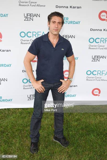 Journalist David Muir attends OCRFA's 20th Annual Super Saturday to Benefit Ovarian Cancer on July 29 2017 in Watermill New York