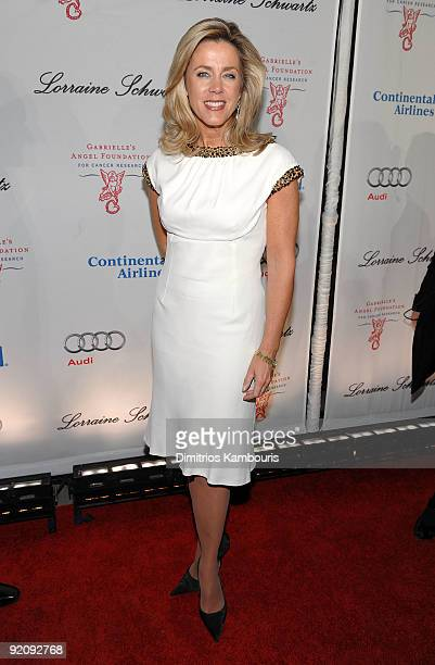 TV journalist Deborah Norville attends 2009 Angel Ball to Benefit Gabrielle�s Angel Foundation hosted by Denise Rich at Cipriani Wall Street on...