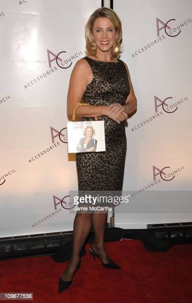 Journalist Deborah Norville attends the 11th Annual ACE Awards at Cipriani 42 on November 5 2007 in New York City