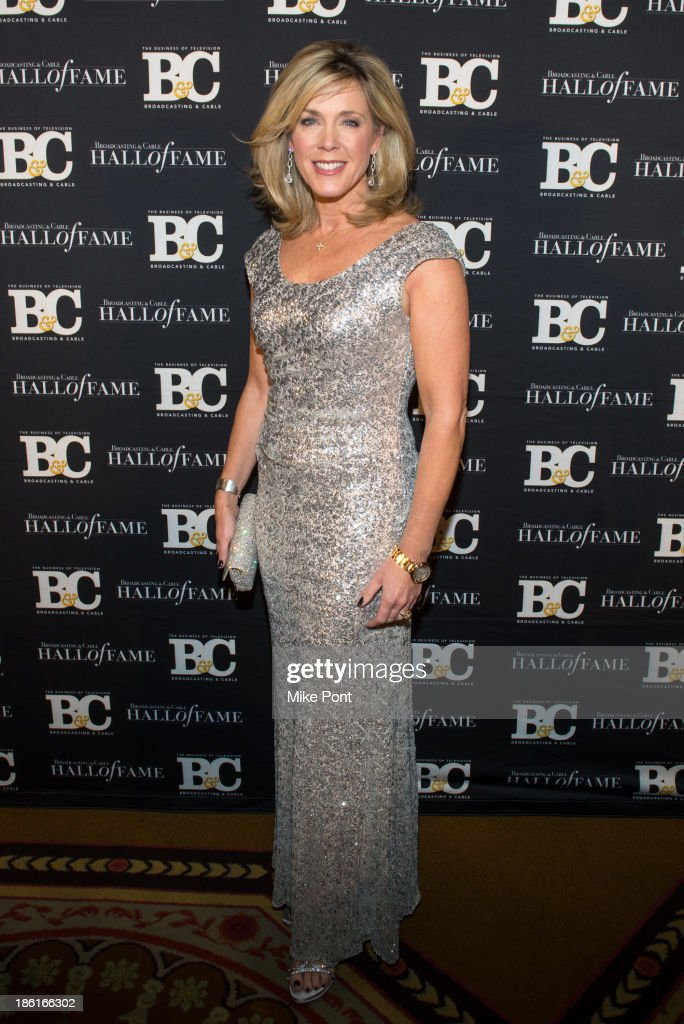 Journalist Deborah Norville attends the Broadcasting and Cable 23rd Annual Hall of Fame Awards Dinner at The Waldorf Astoria on October 28, 2013 in New York City.