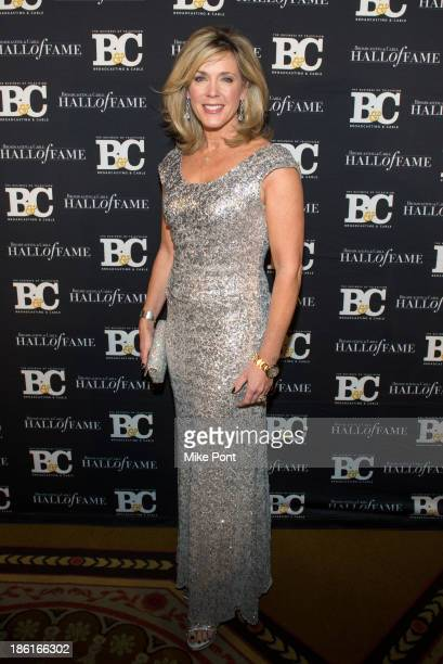 Journalist Deborah Norville attends the Broadcasting and Cable 23rd Annual Hall of Fame Awards Dinner at The Waldorf Astoria on October 28 2013 in...
