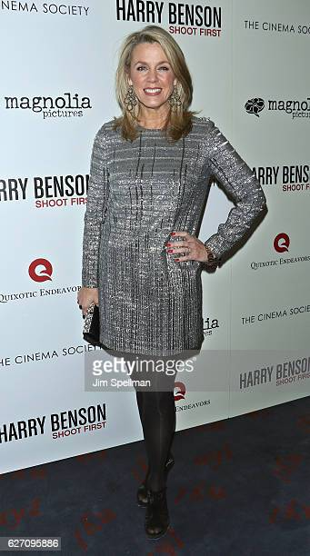 Journalist Deborah Norville attends the premiere of 'Harry Benson Shoot First' hosted by Magnolia Pictures and The Cinema Society at the Beekman...