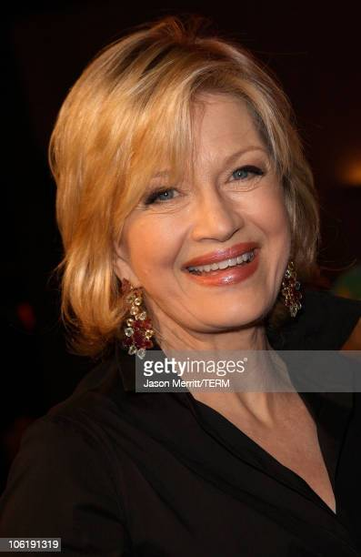 """Journalist Diane Sawyer arrives to the premiere of Universal Pictures' """"Charlie Wilson's War"""" at City Walk Cinemas on December 10, 2007 in Universal..."""