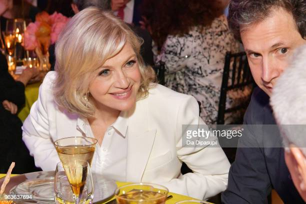 Journalist Diane Sawyer attends Lincoln Center's American Songbook Gala at Alice Tully Hall on May 29 2018 in New York City