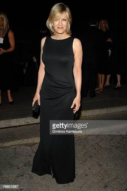 Journalist Diane Sawyer attends Ralph Lauren Show at Central Park Conservatory Garden on September 8, 2007 in New York City.