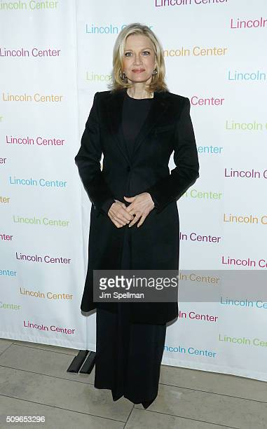 Journalist Diane Sawyer attends the 2016 American Songbook Gala at Alice Tully Hall Lincoln Center on February 11 2016 in New York City