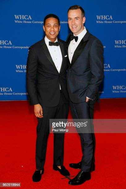 Journalist Don Lemon and Tim Malone attend the 2018 White House Correspondents' Dinner at Washington Hilton on April 28 2018 in Washington DC