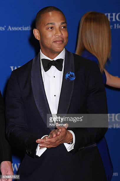 Journalist Don Lemon attends the 102nd White House Correspondents' Association Dinner on April 30 2016 in Washington DC
