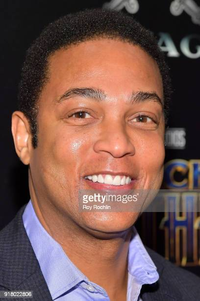 Journalist Don Lemon attends the screening of Marvel Studios' 'Black Panther' hosted by The Cinema Society on February 13 2018 in New York City