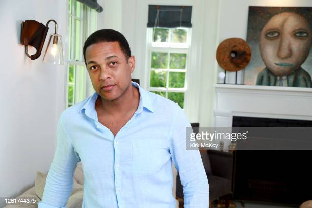 Journalist Don Lemon is photographed for Los Angeles Times on June 8, 2020 in East Hampton, New York. PUBLISHED IMAGE. CREDIT MUST READ: Kirk...