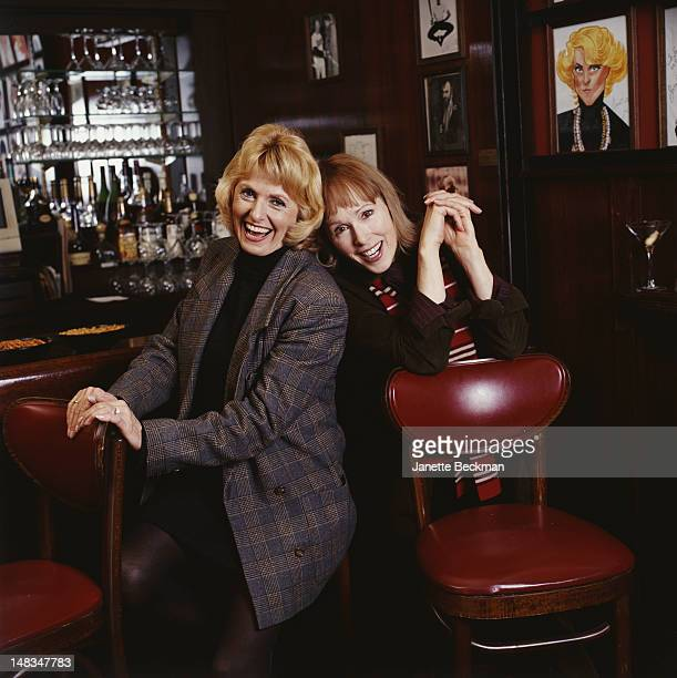Journalist E Jean Carroll with her sister Cande Carroll New York City 2006 The two cofounded the dating website greatboyfriendscom