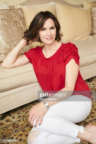 Journalist Elizabeth Vargas is photographed for People Magazine on May 31, 2018 in New York City. PUBLISHED IMAGE.