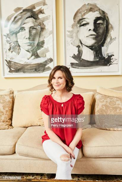 Journalist Elizabeth Vargas is photographed for People Magazine on May 31, 2018 in New York City.