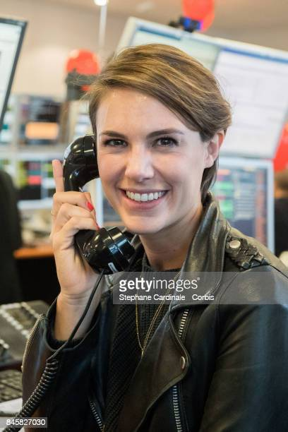 Journalist Emilie Besse attends the Aurel BGC Charity Benefit Day 2017 on September 11 2017 in Paris France