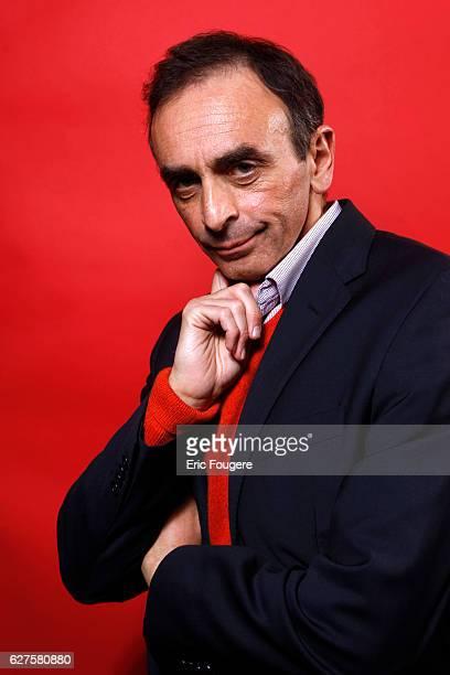 Journalist Eric Zemmour Photographed in PARIS