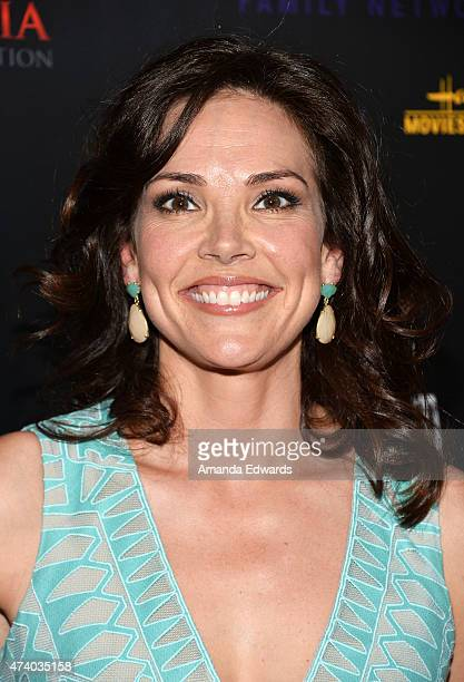 Journalist Erica Hill arrives at the 40th Anniversary Gracies Awards at The Beverly Hilton Hotel on May 19, 2015 in Beverly Hills, California.