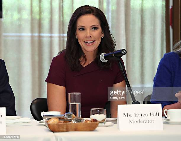 Journalist Erica Hill attends Autism Speaks: World Focus on Autism 2016 on September 21, 2016 in New York City.