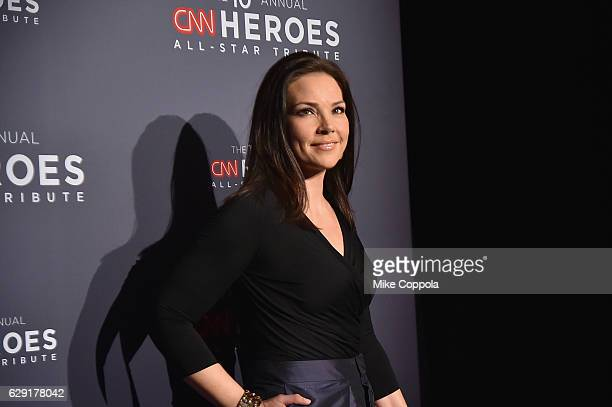 Journalist Erica Hill attends CNN Heroes 2016 at the American Museum of Natural History on December 11, 2016 in New York City. 26362_011