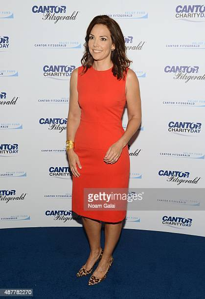 Journalist Erica Hill attends the annual Charity Day hosted by Cantor Fitzgerald and BGC at Cantor Fitzgerald on September 11 2015 in New York City