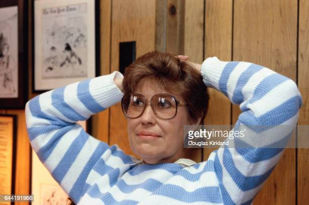 Journalist Erma Bombeck at Home