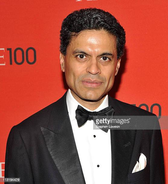Journalist Fareed Zakaria attends the TIME 100 Gala TIME'S 100 Most Influential People In The World at Frederick P Rose Hall Jazz at Lincoln Center...